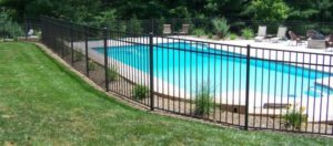 Metal Pool Fence - Ideal Fence of Ottawa