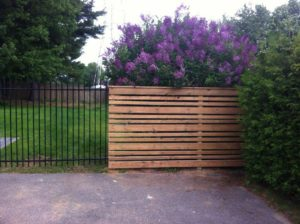 Wood Slat Fence - Ideal Fence of Ottawa