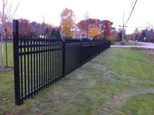 Iron Fence - Ideal Fence of Ottawa