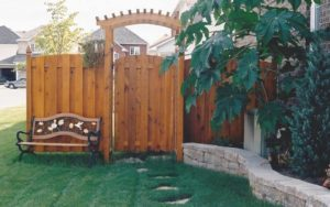 Wood Gate and Fence - Ideal Fence of Ottawa