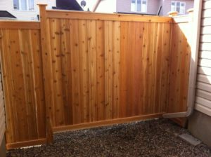 Wood Privacy Fence - Ideal Fence of Ottawa