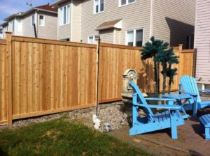 Cedar Fence - Ideal Fence of Ottawa