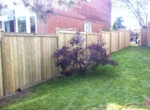 Wood Fence - Ideal Fence of Ottawa