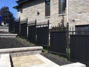 Iron Metal Fence - Ideal Fence of Ottawa