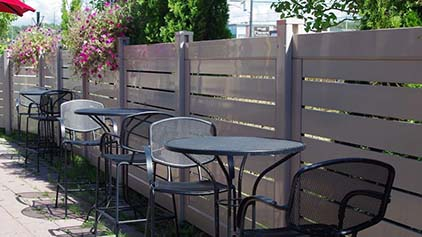 Patio PVC - Ideal Fence